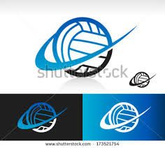 Volleyball Logos Google Search Volley Logo Pinterest