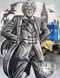 The Third Doctor by rainesz.deviantart.com on @DeviantArt
