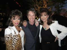 With Martin Short and Joan