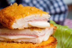 SanJacobos fáciles de pollo con jamón y queso