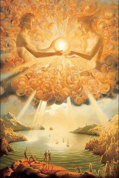 SACRED GIFT by Vladimir Kush  Meet the new Salvador Dali; the incredibly luminous and inspirational art of Vladimir Kush