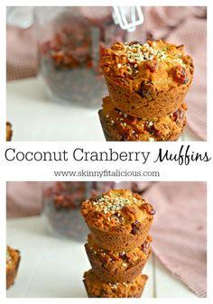 Coconut Cranberry Mu