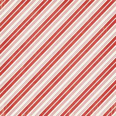 American Crafts - Imaginisce - Colors of Christmas Collection - 12 x 12 Double Sided Paper - Peppermint Stripe at Scrapbook.com