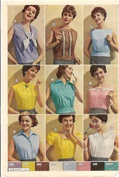 Vintage Summer Time Tops..sleeveless.