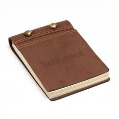 Handmade Leather 'Scribbles' Notepad (India) - Overstock™ Shopping - Big Discounts on Books & Journals
