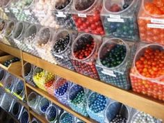 Bonner Springs, Kansas is the home of Moon Marble Company. They are the only store in the country where you can buy toy marbles, handmade marbles and watch them being made.   Bring a group to learn to play marbles! The store is full of unique toys games and gifts from the past.