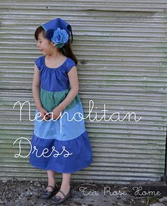 Dress tutorial for 5-6 year old