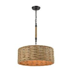 Shop for Elk Weaverton 3-light LED Chandelier in Oil Rubbed Bronze. Get free shipping at Overstock.com - Your Online Home Decor Outlet Store! Get 5% in rewards with Club O! - 18318799