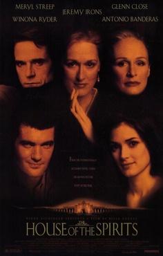 La casa de los espíritus Jeremy Irons, Meryl Streep, Wynona Ryder, Antonio Banderes and Glenn Close - OUTSTANDING cast!