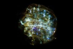 A single low-energy, iron-poor supernova as the source of metals in the star
