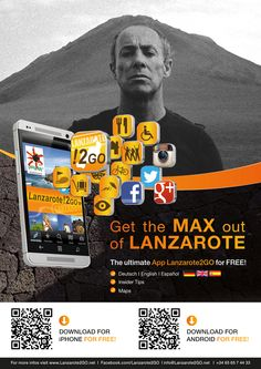 César Manrique  find out all about his life and his art in our App Lanzarote2GO