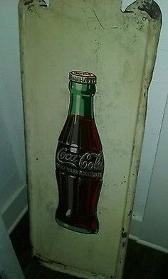 Vintage Coca Cola Metal Sign