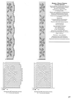 Ganchillo vertical Filet crochet