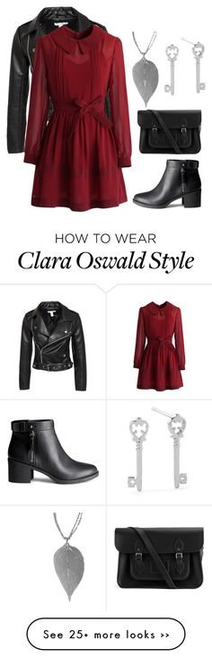 """Clara Oswald"" by peregrinetook on Polyvore"