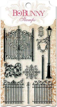 BoBunny - Clear Stamps: Gateway