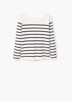 Interwoven drawstring sweater | MANGO