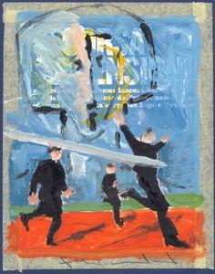 Tecnica Mista su carta , anno 2007 , autore Lino Lanaro