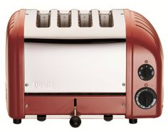 DUALIT Classic 4-Slice Toaster Red $279.95 LOWEST PRICE GUARANTEE PICK UP OR CULINART MARKET WILL SHIP TOTALLY FREE CULINART MARKET www.shopculinart.com