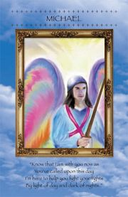 Today's Angel Card: Archangel Michael helps us through our trials and tribulations. But sometimes our battles are self made and self perceived. Today we are asked to look at where we perhaps make mountains out of molehills, in which case there is no need to enlist help to move the mountain.