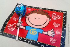 Craft Estudio: Ideas para regalar paletas el 14 de febrero Saint Valentine, Be My Valentine, Valentine Gifts, Welcome To School, Diy And Crafts, Crafts For Kids, Diy Birthday Invitations, Child Day, Candy Gifts