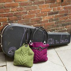 Tensity Rocker (left) and Boho (right) bags