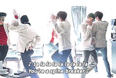 Jin directed the choreography such talent