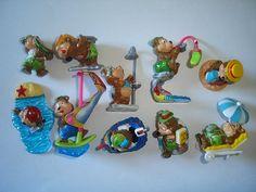 Kinder Surprise Set  Orsetten Teddies by KinderSurpriseToys