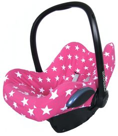 Maxi Cosi cover carseat car seat bekleding hoes overtrek hoesje zomerhoes autostoelhoes stars star sterren ster roze pink girl baby >> https://www.stoelsprookjes.nl/a-38930393/maxi-cosi-hoezen/maxi-cosi-hoes-ster-roze/
