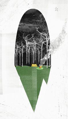 Woods - Rich Gemmell Illustration