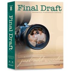 1. The Latest Edition of Final Draft software   My Pick - 5 things to buy an aspiring screenwriter — 5 things I learned today