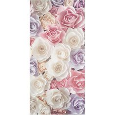 Bilderwelten Rosenbild Raumteiler White Rose Blumen 250x120cm inkl. transparenter Halterung: Amazon.de: Küche & Haushalt Paper Art, Rugs, Home Decor, Products, Art On Paper, Pastel, Flowers, Household, Farmhouse Rugs