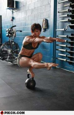 GOAL ... for balance & strength