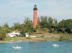 Jupitor Light House Palm Beach FL