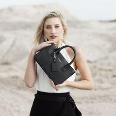 Image of Jasmin Small Tote - Black Hermes Kelly, All Things, Australia, Bags, Fashion, Handbags, Moda, Fashion Styles, Hermes Kelly Bag