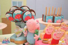 Peppa Pig themed birthday party via Kara's Party Ideas KarasPartyIdeas.com #peppapig #peppapigparty #peppapigcake (26)