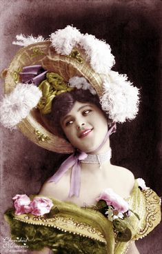 Oh the days of dressing up for Easter - love the bonnet