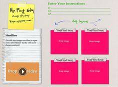Motivational Monday Glogster iPad App Test Glog
