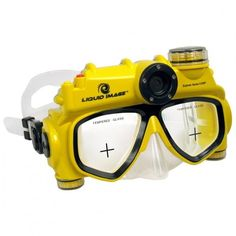 Unique Gift Idea: Underwater video camera mask is a perfect device that lets you take photos or make videos while swimming.