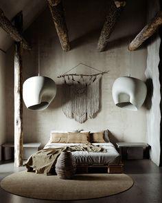 Wabi Sabi, Room Interior Design, Interior Design Inspiration, Casa Wabi, Interiores Design, Interior Architecture, Decoration, Home Decor, Behance