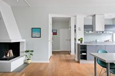 FINN – FROGNER - Lekker arkitekttegnet 3-roms i 3. etasje med balkong og peis - Attraktiv og etterspurt beliggenhet