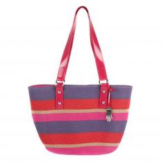 9a34430041 Dents Colour Stripe Tote Bag - £48.00 www.countryhouseoutdoor.co.uk -  Coloured Stripe Tote.