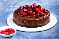 This wonderfully decadent dessert is a twist on Matt Preston's best ever cheesecake.