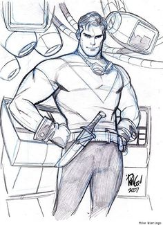 Tom Strong by Mike Wieringo