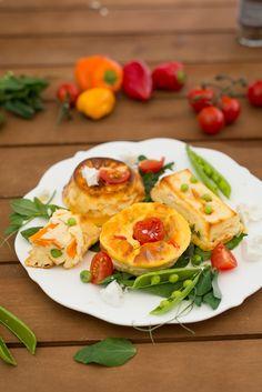 Flan de légumes (Gemüsepudding) backen hauptspeisen rezepte vegetarisch vorspeisen Französisch Kochen by Aurélie Bastian
