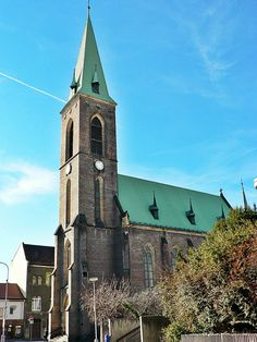The church of The Assumption of Holy Virgin Mary and St.Wenceslaus in Kralupy (Central Bohemia), Czechia St Wenceslaus, Sacred Architecture, Virgin Mary, Cathedrals, Pilgrimage, Czech Republic, Temples, Hungary, Notre Dame