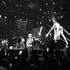 Bruno Mars en directo en el Palau Olímpic de Badalona.