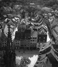 DOISNEAU Robert, Panorama de Mulhouse, photographie, 1945