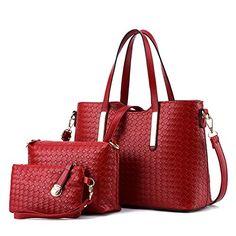 Women Top Handle Satchel Handbags Tote Purse TcIFE *** More info @
