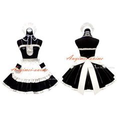 Free Shipping He Is My Master Sexy Sissy Maid Dress Pvc Dress Uniform Cosplay Costume Custom-made