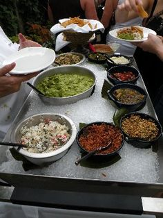 Rick Bayless' Ultimate Guacamole Bar | The Daily Meal
